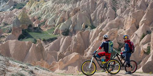 ballade en vélo cappadoce