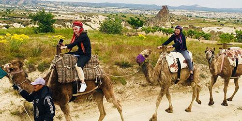 Safari à dos de chameau Cappadoce