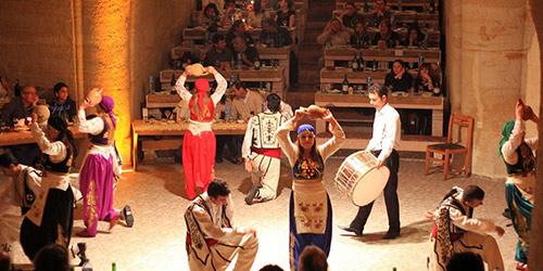 Soirée spectacle folklorique en Cappadoce