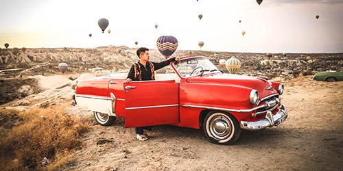Tour de Cappadoce en voiture classique