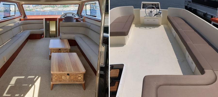 Croisière sur le Bosphore en Yacht privé
