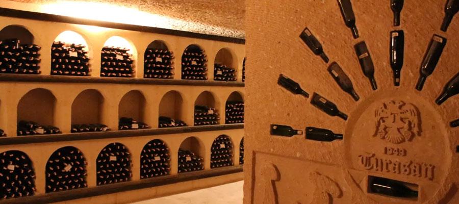 dégustation vin turc Cappadoce.