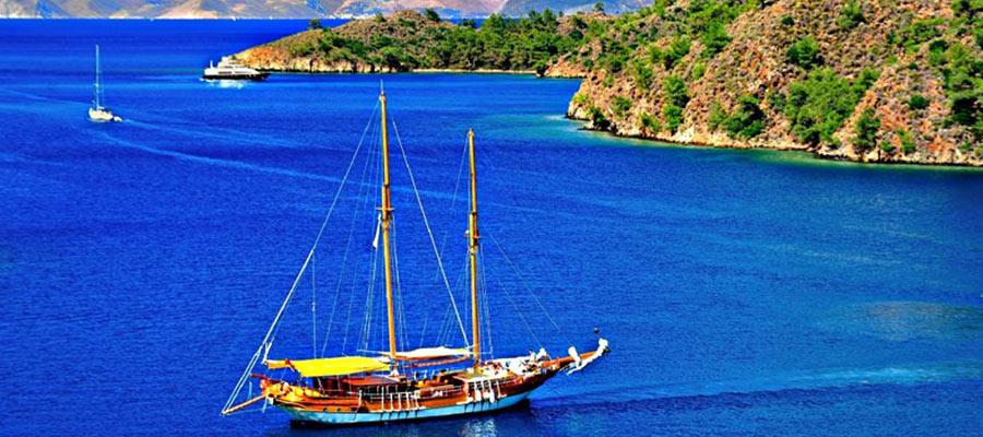 location bateaux privés fethiye oludeniz dalyan