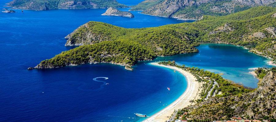 Croisière en bateau sur les 12 îles à Fethiye