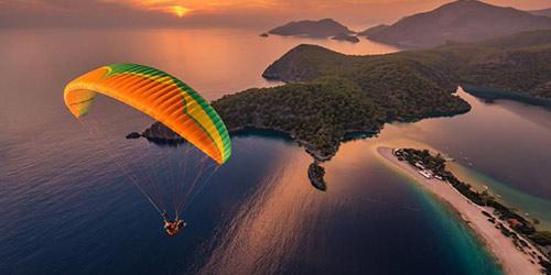 Parachute Ascensionnel et Parapente à Fethiye