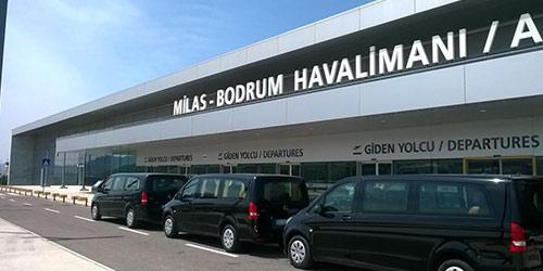 Transferts de Bodrum aéroport
