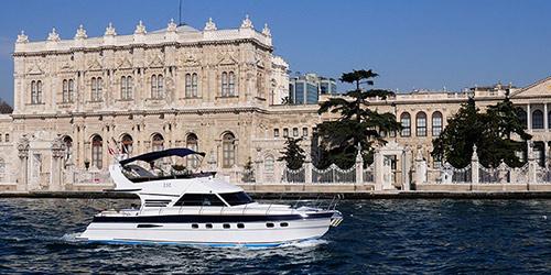 croisière sur le bosphore sur yacht privé