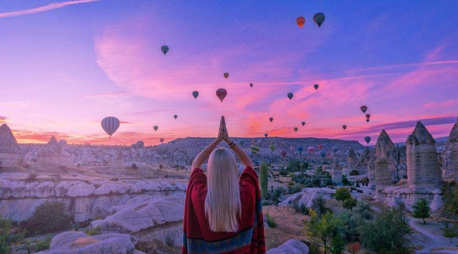 Excursion Photo Shooting à l'aube en Cappadoce