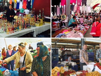 les marchés d'istanbul