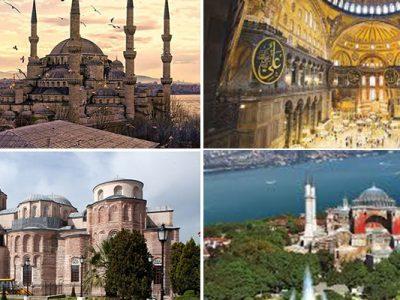 les monuments byzantins d'Istanbul