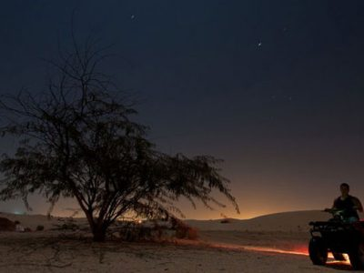 nocturne en quad / Atv de la Cappadoce