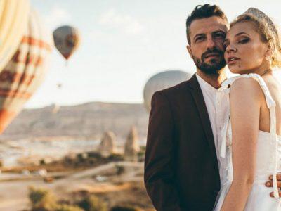 Photo shooting de mariage en Cappadoce
