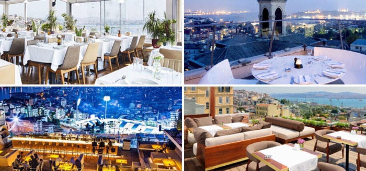 Les terrasses d'Istanbul – Beyoglu et Galata
