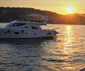 Istanbul Croisière Coucher de Soleil