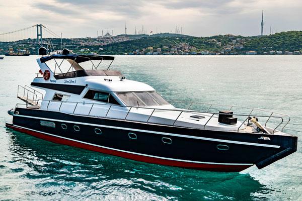 La location de yacht à Istanbul