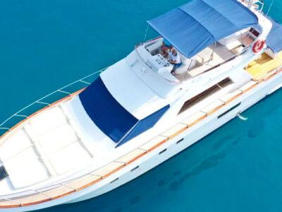 yacht à moteur antalya